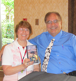 Jim Korkis with Nancy Temple Rodrigue
